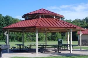 Kirkbridge Park shelter