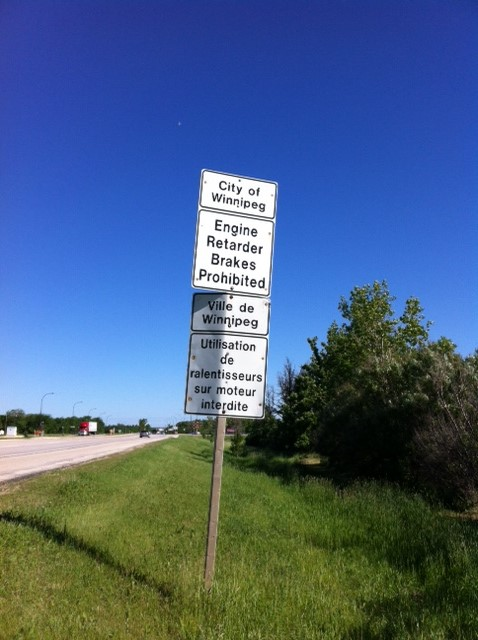 Traffic Noise/Air Brakes on South Perimeter Highway