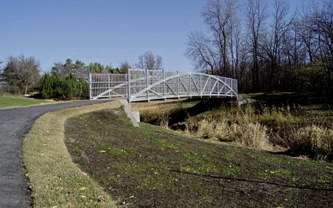 New Pedestrian Bridge in King's Park