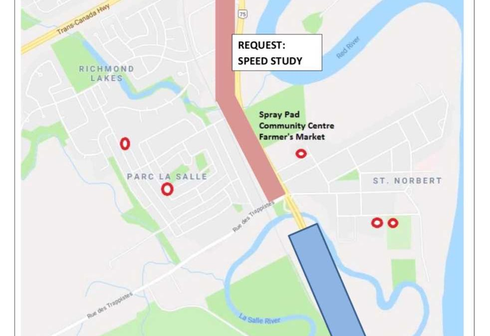 Update on Review of Pembina Highway Speed Limit – South of La Salle Bridge