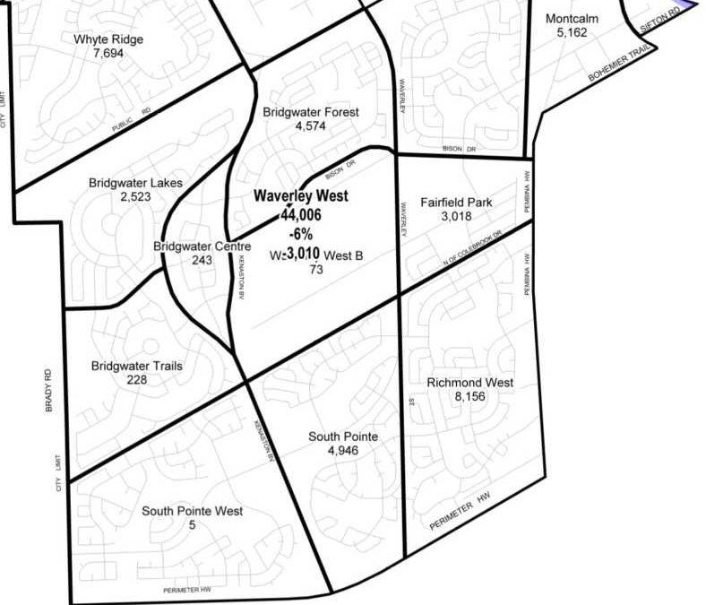 Which Ward Is Whyte Ridge In?