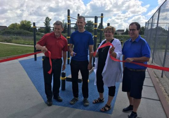 Whyte Ridge Community Centre opens new accessible fitness park