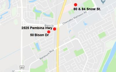 Update On New Housing On Pembina, University Crescent And Snow Street