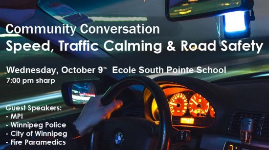 Speed, Traffic Calming & Road Safety: Community Conversation