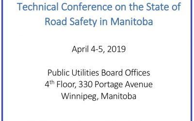 Road to Zero Report / PUB Technical Conference Road Safety – Summary