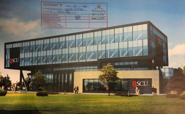 Addition to Credit Union Building – Kenaston and McGillivray