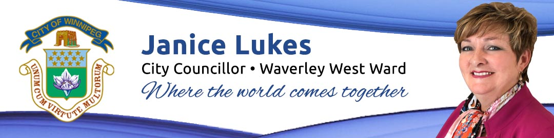 Janice Lukes, Councillor Waverley West Ward