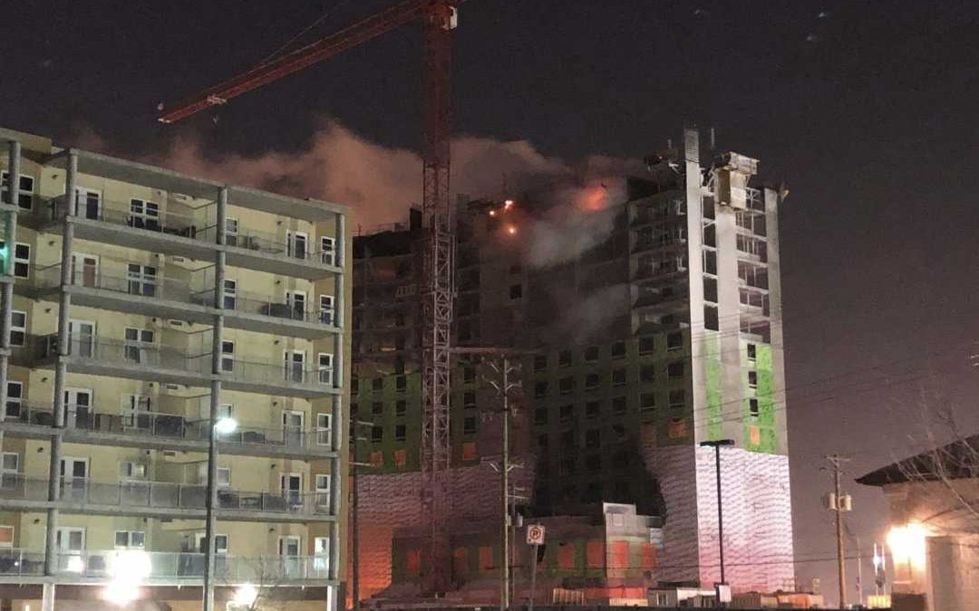 Video Shows Arson Suspects at High-Rise Fire