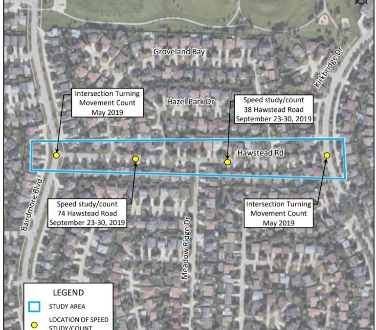 Speed Study and Traffic Count – Hawstead Road