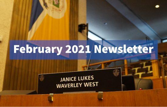 My February 2021 Newsletter