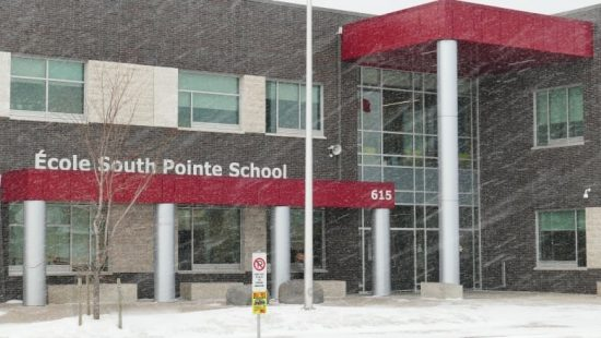 Traffic Calming at Ecole South Pointe School