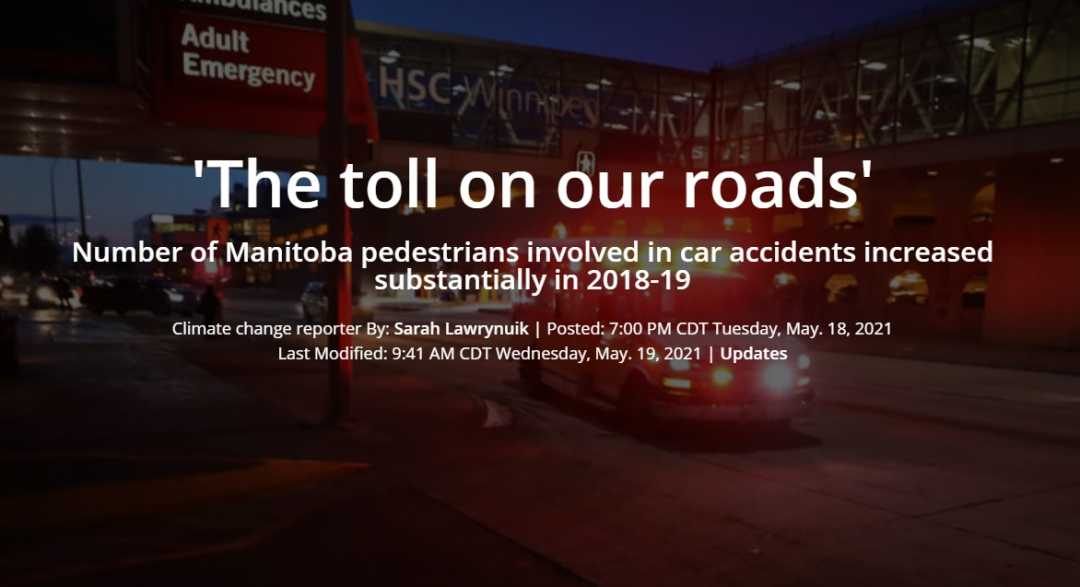 The Toll on Our Roads
