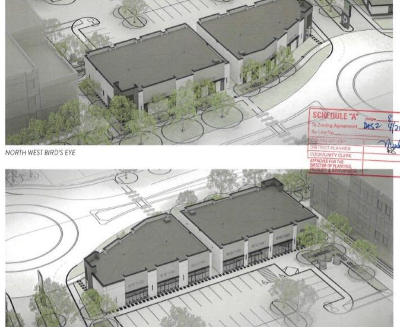 Another Commercial Development on Centre Street