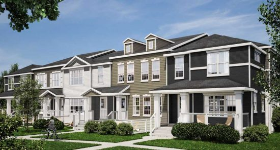 New Town House Buildings in South Pointe