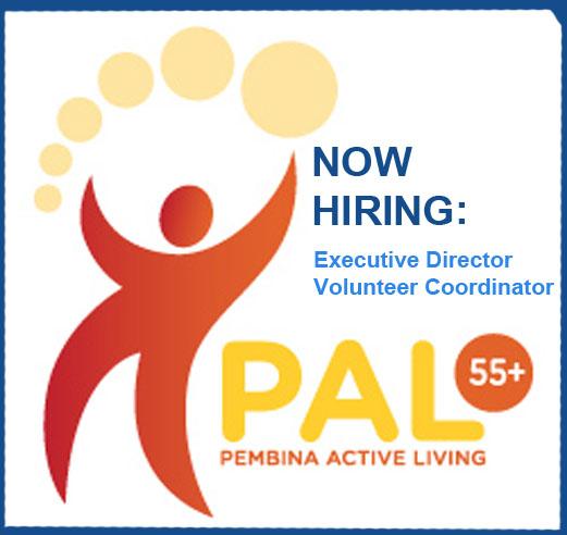 Now HIRING – Pembina Active Living 55+