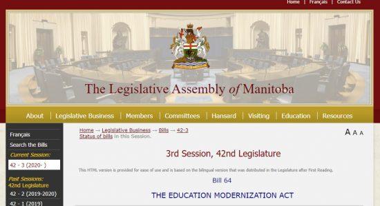 Bill 64 Education Modernization Act