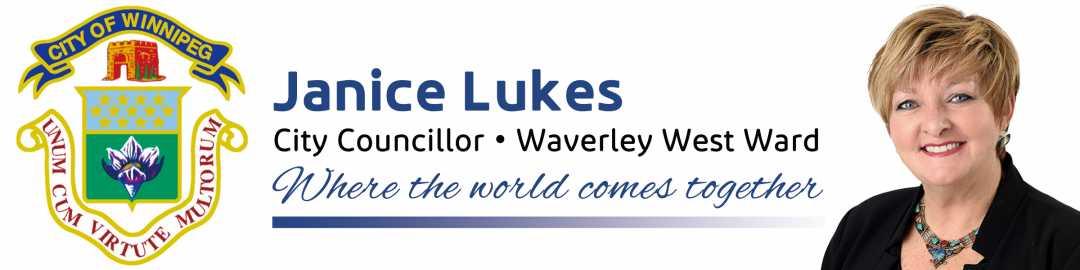 Janice Lukes, Councillor Waverley West Ward
