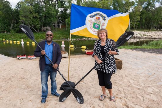New Beachfront Entry for Paddle-craft at La Barrière Park
