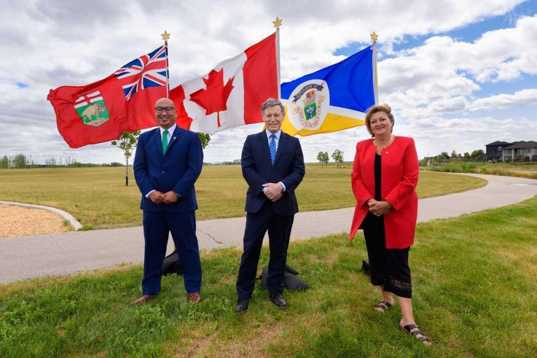Funding Announcement – South Winnipeg Recreation Campus